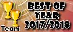 Best of Team Year - 2017/2018